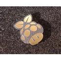 Mushroom Pi Label / Logo / Sticker / Badge 30 x 23 mm [290b]