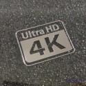 4K ULTRA HD Metal Label / Aufkleber / Sticker / Badge / Logo 20 x 15mm [430b]