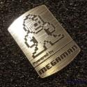 Mega Man Rockman 8-bit NES Nintendo Logo Label Decal Case Sticker Badge [429]