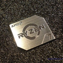AMD RYZEN 7 CPU PC Logo Label Decal Case Sticker