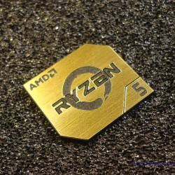 AMD RYZEN 5 CPU PC Logo Label Decal Case Sticker Badge