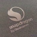 Snapdragon by Qualcomm Mobile Label / Aufkleber / Sticker / Badge / Logo metal/chrome [448]