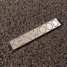 Kenwood Logo Emblem Badge adhesive [451]