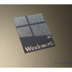 Windows 8 Label / Aufkleber / Sticker / Badge / Logo 18x23mm [071]