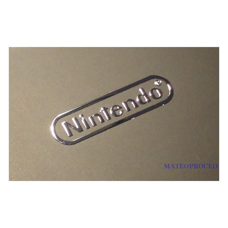 Nintendo label aufkleber sticker badge logo 22mm x 5mm 0174