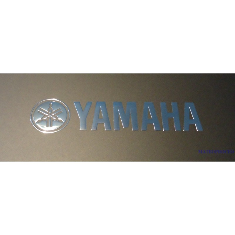 YAMAHA Label Aufkleber Sticker Badge Logo 60mm X 13mm 190
