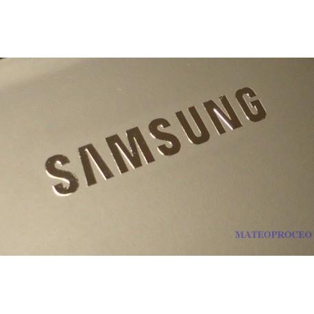 Samsung label aufkleber sticker badge logo 20mm x 3mm 075