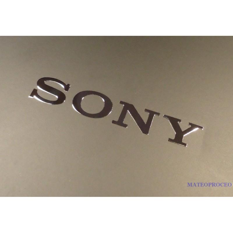 Sony label aufkleber sticker badge logo 50mm x 8mm 074b