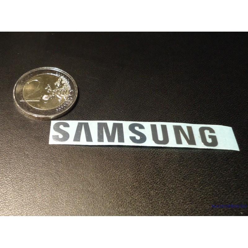 Samsung label aufkleber sticker badge logo 60mm x 8mm 077
