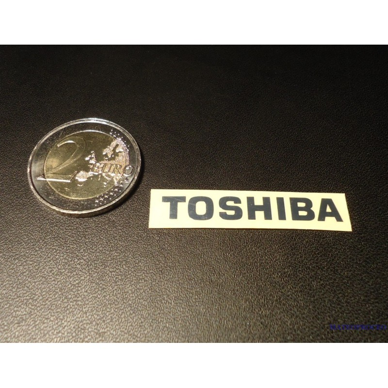 Toshiba Label Sticker Badge Logo