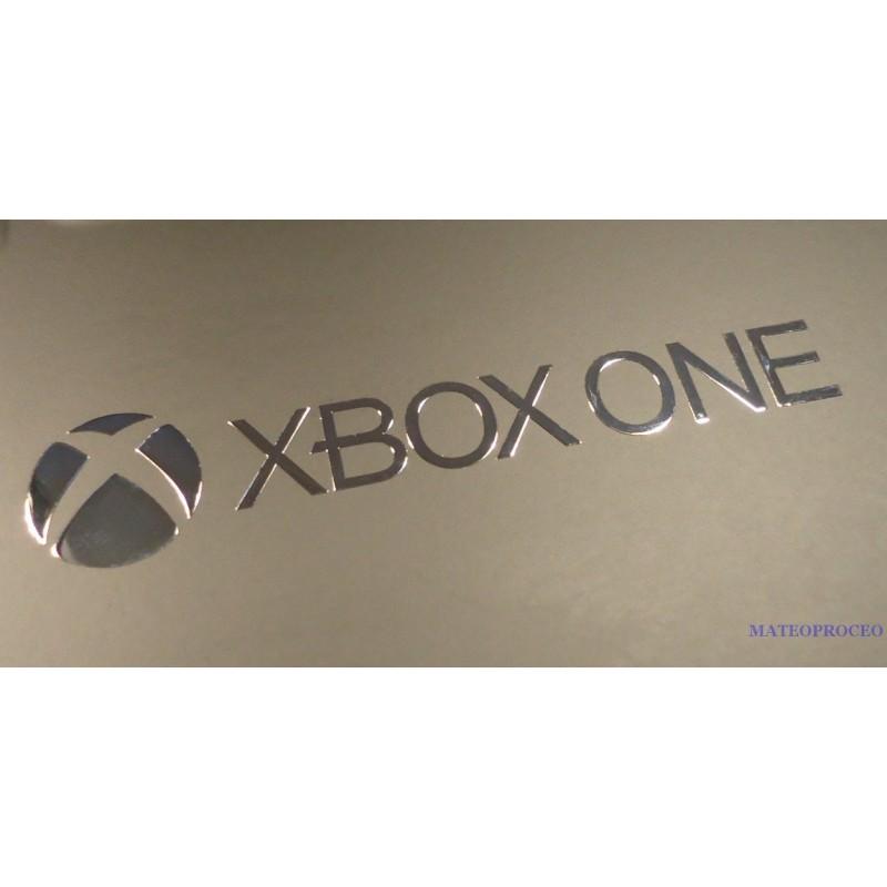 Xbox one label aufkleber sticker badge logo 80mm x 15mm 235