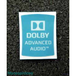 Dolby Advanced Audio 14x18mm [020b]