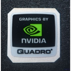 Graphics by nVidia Quadro 18x18mm [024]