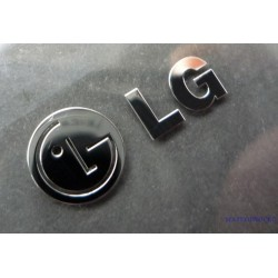 LG Label / Aufkleber / Sticker / Badge / Logo 20mm x 9mm [122]