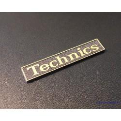 Technics Gold Logo 34 x 6 mm [402g]