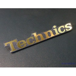 Technics Gold Logo 61 x 10 mm [402h]