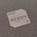 AMD RYZEN 3 Cpu PC Logo Label Decal Case Sticker Badge Silver [450]