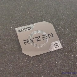 AMD RYZEN 5 Cpu PC Logo [450b]