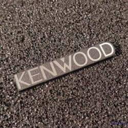 Kenwood Logo Emblem Badge adhesive [451b]