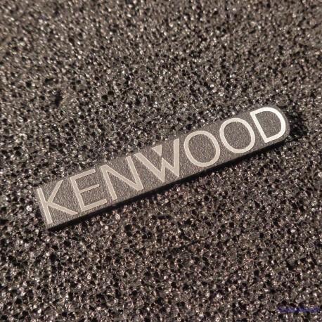 Kenwood Logo Emblem Badge adhesive [451b]