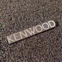 Kenwood Logo Emblem Badge brushed 3M adhesive 35 x 5,9 mm [451b]