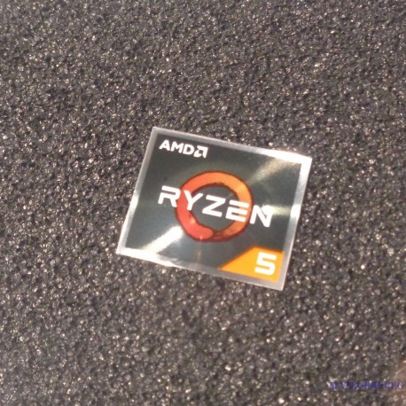 AMD RYZEN 5 Cpu PC Logo Label Decal Case Sticker Badge [450e]