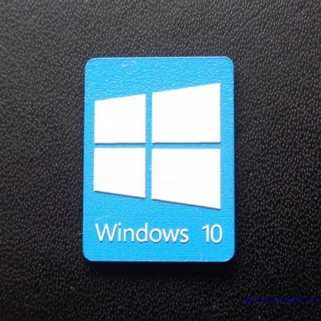 Windows 10 Badge15x22mm [073h]