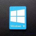 Windows 10 Label / Aufkleber / Sticker / Badge / Logo 15x22mm [073h]