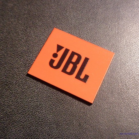 JBL Logo Orange Black 28 x 23 mm [239i]