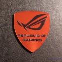 ASUS REPUBLIC OF GAMERS Label / Aufkleber / Sticker / Logo 27mm x 30mm [189e]