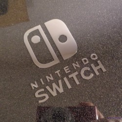 Nintendo Switch Sticker Logo 56 x 60mm [464]