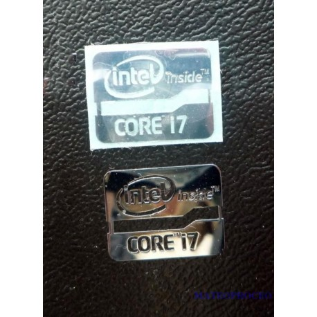 INTEL i7 Label / Aufkleber / Sticker / Badge / Logo 21mm x 16mm [069]