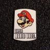 Super Mario Bros 8-bit NES Nintendo Logo Label Decal Case Sticker Badge [452d]