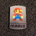 Super Mario Bros 8-bit NES Nintendo Logo Label Decal Case Sticker Badge [452c]
