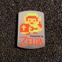 Legend of Zelda Link 8-bit NES Nintendo Logo Label Decal Case Sticker Badge [463b]