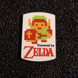 Legend of Zelda Link 8-bit NES Nintendo Logo Label Decal Case Sticker Badge [463]
