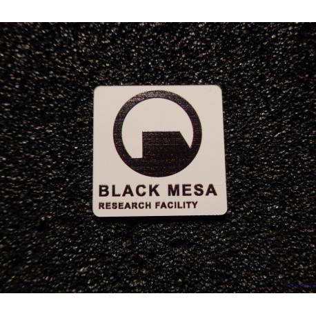 Black Mesa Half-Life Badge Logo [475c]