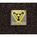 TriOptimum Corporation System Shock Retro PC Logo Label Decal Case Sticker Badge [476]