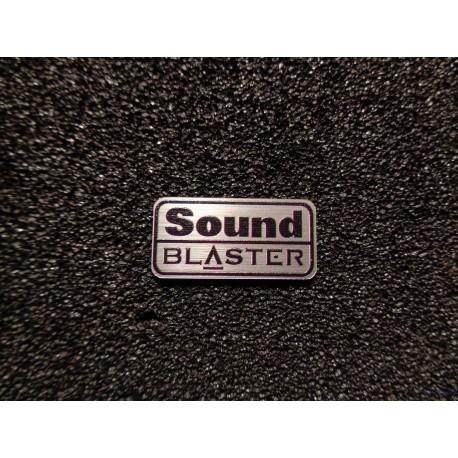 Cretive Sound Blaster Retro PC Logo Badge [477]