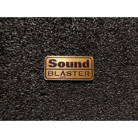 Cretive Sound Blaster Retro PC Logo Badge [477b]