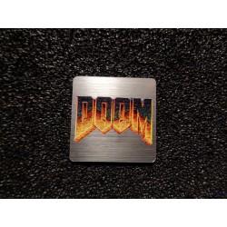 Doom Retro PC Logo Sticker Badge [478]