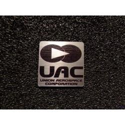 Doom UAC Union Aerospace Corporation Retro PC Logo Badge [478b]