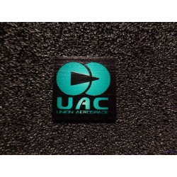Doom UAC Retro PC Logo Label Badge [478d]