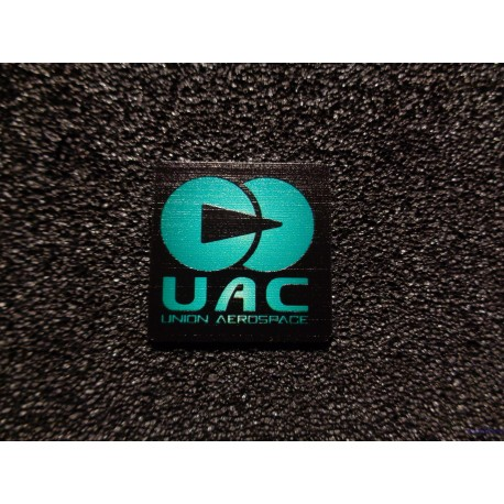 Doom UAC Retro PC Logo Label Badge [478d]