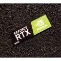 Nvidia GEFORCE RTX 3090 PC Case Logo Label Decal Sticker Laptop Badge [481d]