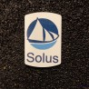 Solus Linux Logo Label Decal Case Sticker Badge [490b]