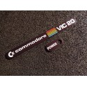 Commodore VIC 20 Label / Aufkleber / Sticker / Badge / Logo 11cm x 1,1cm [460]
