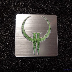Quake 2 Retro PC Logo Case Sticker Badge [493b]