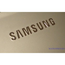 SAMSUNG Label / Aufkleber / Sticker / Badge / Logo 20mm x 3mm [075]